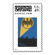 The Caped Crusader Postage Stamps. Wanna make each letter a special delivery? Try to customize this great stamp template and put a personal touch on the envelope. Just click the image to get started!
