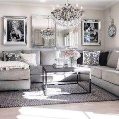 Image result for living room decor white sofa