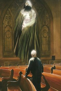 The Spectre & Norman McCay in Alex Ross' Kingdom Come. (one of my favorite illustrations ever) Alex Ross, Comic Book Artists, Comic Artist, Comic Books Art, Comic Book Characters, Comic Character, Dc Comics Art, Marvel Comics, Ms Marvel