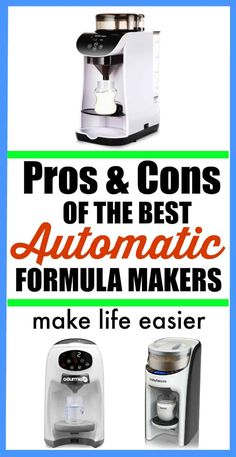 The best automatic formula makers that make your life easier. Why do you need one and the pros and cons of each automatic bottle maker. Bottle Maker, What Is Sleep, First Time Parents, Nursing Tips, Bottle Feeding, Pregnant Mom, Working Moms, Baby Bottles, Baby Feeding