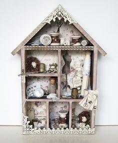 sewing house *Pion Design/Imaginarium Designs - Scrapbook.com