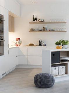 Kjøkken med skrå vinkler ga dem en kreativ kjøkkenløsning - Aftenposten
