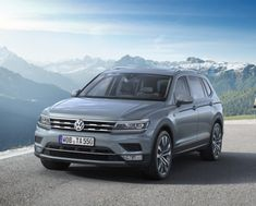 The new Volkswagen Tiguan Allspace is a three-row portable crossover that showed up in early Nonetheless, The 2019 VW Tiguan Allspace will have new tools Volkswagen Tiguan, Volkswagen Models, Front Brakes, Rear Brakes, Tiguan R Line, Vans, Compact Suv, Combustion Engine, Diesel Fuel