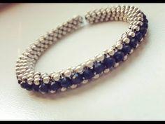 # DIY - Pulsera triple parte # DIY - Triple Bracelet part Healing Bracelets, Seed Bead Bracelets, Seed Bead Jewelry, Jewelry Making Beads, Diy Jewelry, Beaded Jewelry, Jewelry Ideas, Seed Bead Patterns, Seed Bead Tutorials