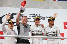 German GP Podium