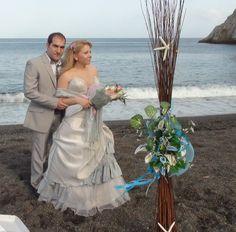Wedding Kamari Beach
