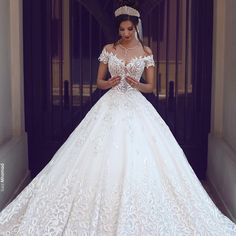 "280 Likes, 7 Comments - @theoneinwhite on Instagram: ""Monday's call for pretty dresses! x | @saidmhamadphotography #theoneinwhite #weddings #wedspiration…"""