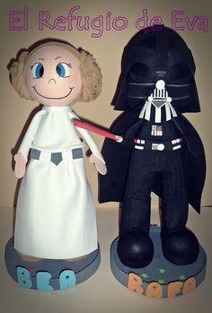 El Refugio de Eva: Darth Vader y la Princesa Leia