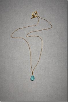 The simple necklaces like these are better!