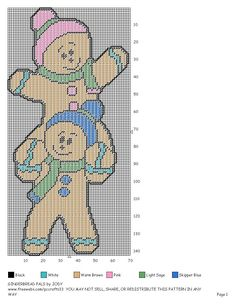 Gingerbread Pals Pg 2/2