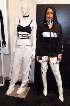 484458dfcef Swag Craze: Rihanna and PUMA Remix Japanese Street Culture With A Haunting  Twist Best Of
