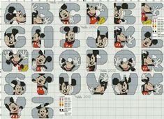 Monograma Mickey