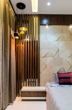 Design Greets Culture - Permar House |The Design Code - The Architects Diary Indian Bedroom Design, Luxury Bedroom Design, Bedroom Bed Design, Bedroom Furniture Design, Home Decor Furniture, Interior Design, Bed Back Design, Luxurious Bedrooms, Architects