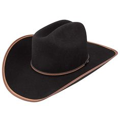 e5710f0d0dbed Stetson 3X Black Foothills Review Kids Cowboy Hats