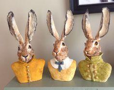 Fall brunch ideas brown sugar 47 New ideas Pottery Animals, Ceramic Animals, Ceramic Art, Rabbit Crafts, Rabbit Art, Brunch Party Decorations, Rabbit Sculpture, Bunny Art, Easter Traditions