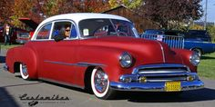Classic Cars – Old Classic Cars Gallery 1954 Chevy Bel Air, 1955 Chevy, Chevrolet Bel Air, Vintage Cars, Antique Cars, Slammed Cars, Old American Cars, Old Classic Cars, Old Cars