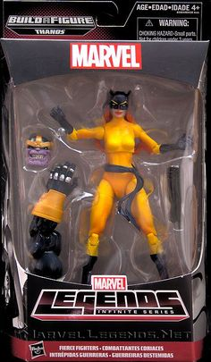 Marvel Legends Thanos Series Hellcat