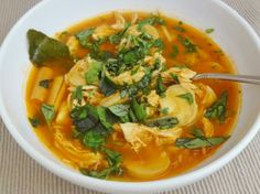 Tom yum soup, Thai food recipes and Toms on Pinterest