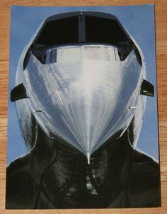 British Airways Concorde Postcard