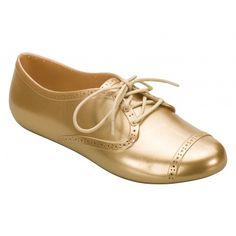 99de5573389 Gold Lemon Brogue II Mel Shoes