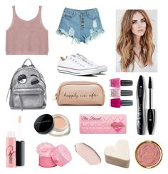 """"""""""" by emmizzzz on Polyvore featuring moda, WithChic, Chiara Ferragni, Converse, Lancôme, MAC Cosmetics, Deux Lux, Elizabeth Arden, Marc Jacobs e Too Faced Cosmetics"""