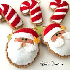 Felt Christmas Ornaments/Felt Christmas by ModernStyleHoliday