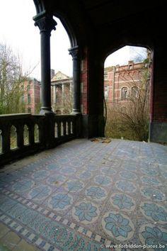 http://www.forbidden-places.net/urban-exploration-castle-of-mesen-lede#1