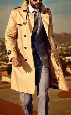 Men's Fashion Guide To Styling Trench Coats