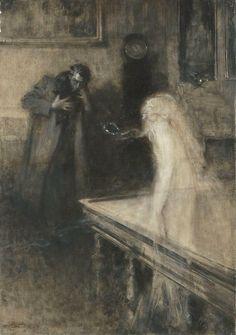 Le Vissionarie by Serafino Macciati 1861-1916