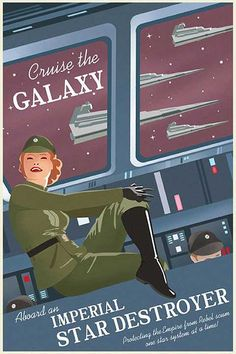 Enjoy the flight with the imperial star destroyer.