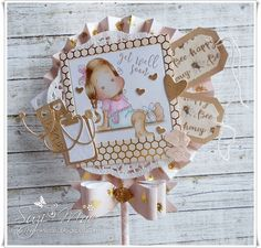 Sweet Get well soon Lollipop card using products from #magnoliasweden and #trimcraft #cards #crafts #tilda #doohickeydies