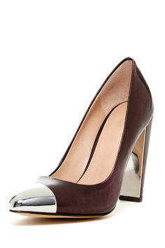 Metal Toe Pump. You know, when.you wanna kick add and look gkid doing.it