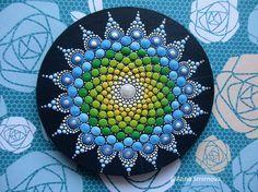 Arte punto de Mandala imanes decoración casera regalos para
