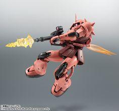 ROBOT魂 <SIDE MS> MS-06S シャア専用ザク ver. A.N.I.M.E. 01