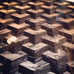 Stunning marble floor at #hoteliconhk