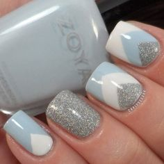 glittering-nails-17 28 Dazzling Nail Polish Trends You Must Try in 2017