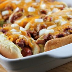 Baked Hot Dogs--easy and NOT soggy.
