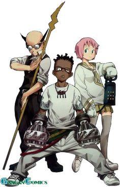 Kilik, Ox, and Kim - Soul Eater