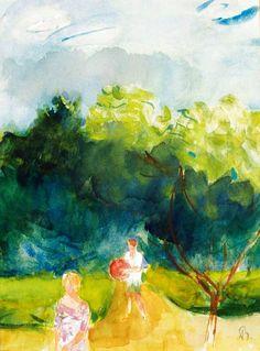 Bernáth, Aurél (1895-1982) - Ball players Paintings, Artists, Games, Paint, Painting Art, Artist, Painting, Gaming, Toys
