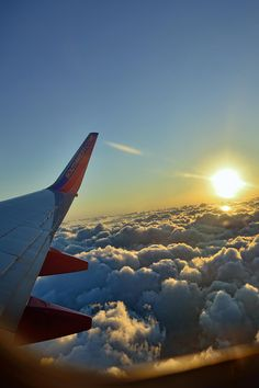 25. As Hans sits through for his long flight back, he had a good sight of the wingtip of Southwest with the sundown as a backdrop. He just had a good time with mom and dad and he already misses them. Time to plan for the next trip! And he knows, Southwest Airlines will be there for him and his family. Always that comfort and fun - only Southwest Airline can deliver. Time to get some rest.