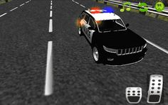 <b>Police Car Driving Game 3D</b> game about racing on city with traffic cars and catch robbers.<p>* Realistic acceleration feature adds to the thrill<br>* Breathtaking visuals<br>* Challenging and outstanding 3D outdoor environment with stunning graphics.<br>* Realistic sound environment- Amazing Musics<br>* Endless city road with traffic cars;<br>* Realistic car physics;<br>* View from cockpit of the car<br>* Police Car Driving Game 3D is exactly precision driving simulator…