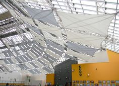 St Enoch Centre - Mesh Screens and Sunshade Sails