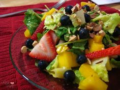 zupas mangoberry salad - delicious and so fresh