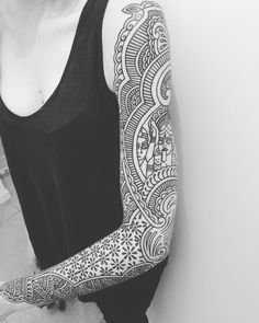 My awesome arm done by #guyletatooer 1 month ago. Cannot say how much I'm…