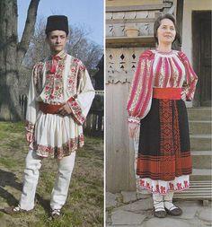 Prahova, Muntenia (Wallachia) Folk Costume, Costumes, Ethnic Diversity, Romania, The Past, Kimono Top, Folk Clothing, Dressing, Textiles