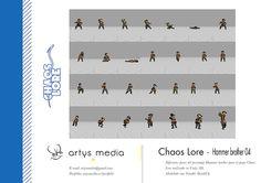 https://flic.kr/p/CrbEeF | Chaos Lore · Hammer brother 04 | Diferentes poses del personaje Hammer brother para el juego Chaos Lore realizado en Unity 3D.  Modelado con Trimble SketchUp.