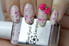 Manicure Monday: Blue-Eyed Girl Lacquer custom Walk Through the Tulips