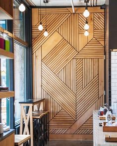 Check out why you need a statement wall in your home asap. Diy Interior, Apartment Interior, Decor Interior Design, Interior Design Living Room, Interior Decorating, Room Interior, Good Enough, Timber Feature Wall, Feature Wall Bedroom