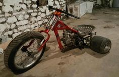 Custom drift trike build