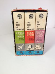 The Book of Knowledge Flash Cards and Quiz Games by IfoundVintage, $30.00